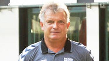 """Krems-Trainer Herbert Lastowitza hat in Linz """"Heimvorteil"""". - Foto: UHK"""