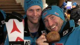 Marc Digruber und Dominik Gstrein